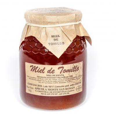 Miel de tomillo de Zamora
