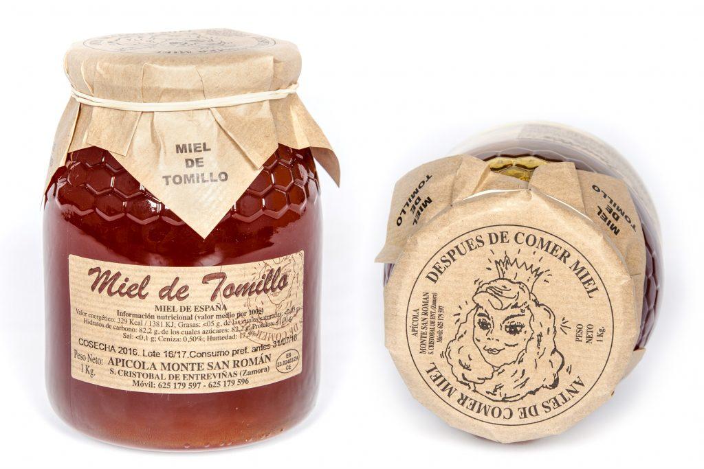 Miel de Tomillo de la provincia de Zamora (Valle de Vidriales y Norte de la provincia)