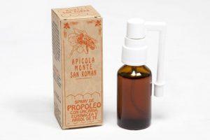 Spray de propoleo Monte San Román Beneficios del propóleo: previene catarros y cura heridas e infecciones