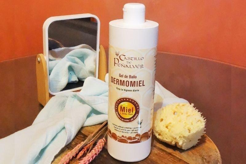 gel de baño dermomiel