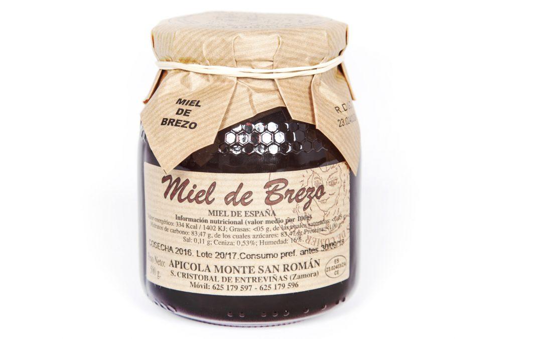 Miel de brezo de Zamora: calidad y sabor únicos