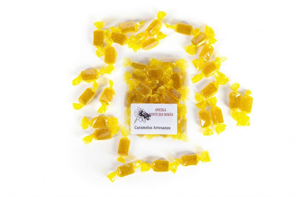 caramelos de miel y jengibre