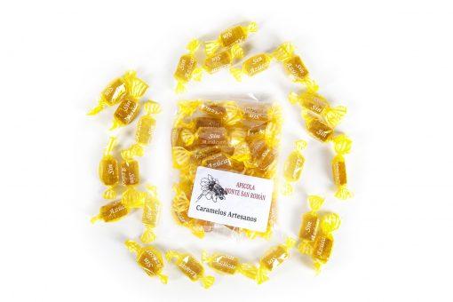 caramelos miel sin azucar
