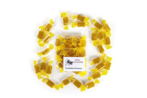 caramelos miel y canela