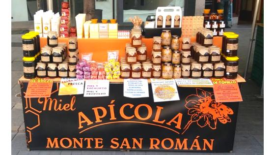 Volvemos a los mercados. Consulta dónde puedes comprar miel Monte San Román