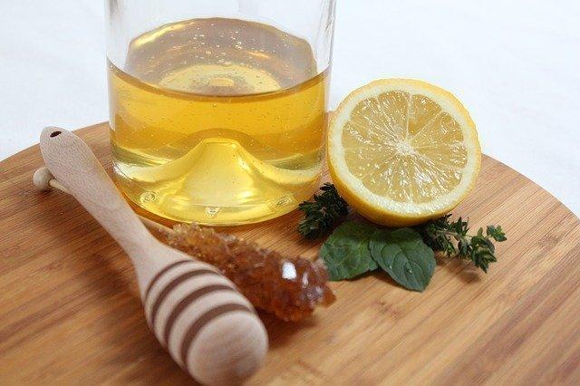 bebida refrescante con miel
