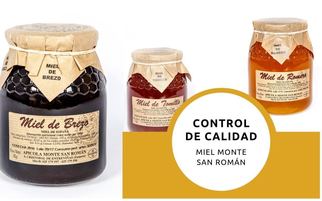 Inspecciones para comprobar la calidad de nuestra miel