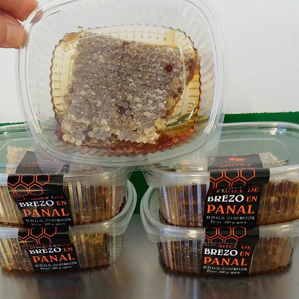 Comprar miel en panal envases de 300 gramos