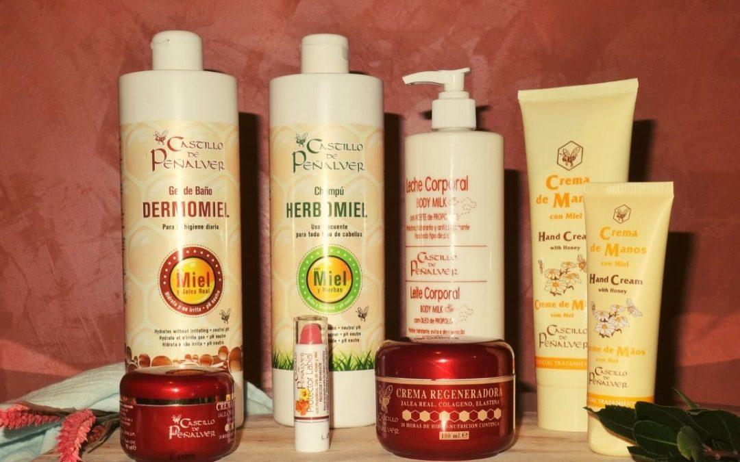 Champú Herbomiel, gel Dermomiel y Body milk de propóleo: cuida tu cabello y tu piel